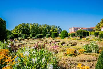 Dans les jardins de l'Evêché à Castres
