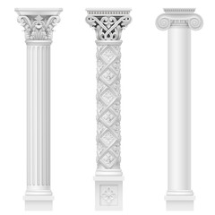 Set of classical columns