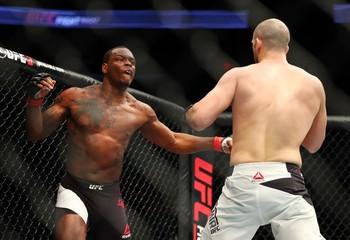 MMA: UFC Fight Night-Saint Preux vs Oezdemir