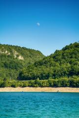 Kokin Brod, Serbia August 01, 2017: Zlatar Lake in Serbia