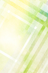 grüne Linien auf Papier - grafische Formen
