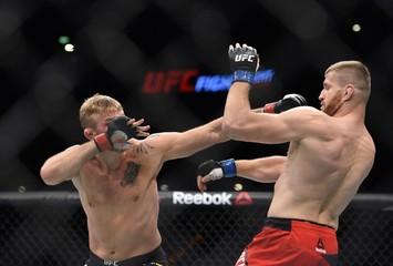 MMA: UFC Fight Night-Gustafsson vs Blachowicz