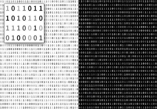 Binary Code Pattern Layout 1