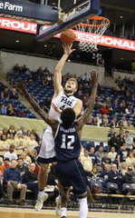 NCAA Basketball: Rice at Pittsburgh