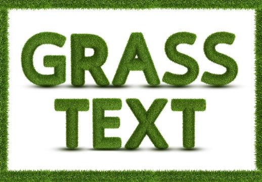 Green Grass Alphabet Set
