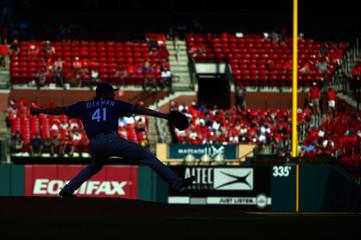 MLB: Texas Rangers at St. Louis Cardinals