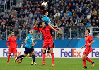 Europa League - Zenit Saint Petersburg vs Real Sociedad