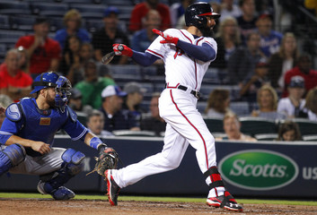 MLB: Toronto Blue Jays at Atlanta Braves