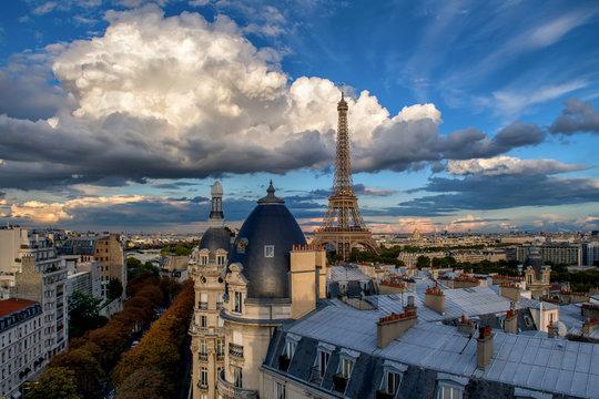 Paris depuis Passy