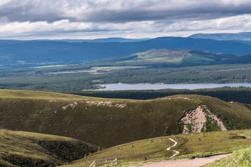 Hillside & Valley below the Cairngorms Scotland