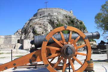 Cannon guards a citadel