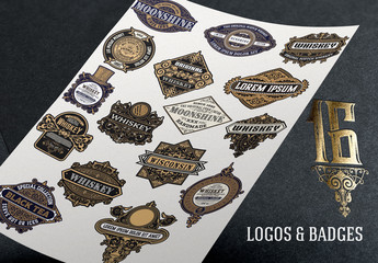 16 Intricate Vintage Labels 1