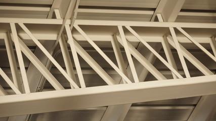 detalle arquitectónico en metal