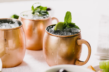 Cocktail Party- Moscow Mules