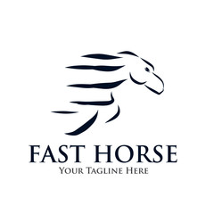 fast horse logo
