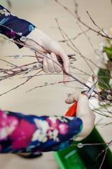 Preparation bouquet