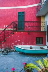 Colorful Alleyway