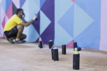 Graffiti painter