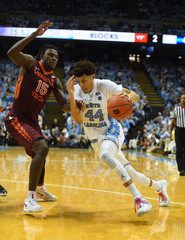 NCAA Basketball: Virginia Tech at North Carolina