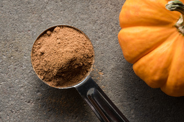 A teaspoon of Pumpkin Pie Spice