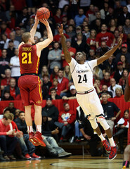 NCAA Basketball: Iowa State at Cincinnati