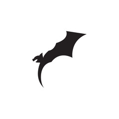 bat vector silhouette