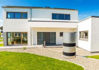 modernes Einfamilienhaus in Deutschland