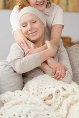 Tumour survivor finding solace