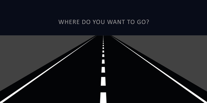 where do you want to go dark road at night