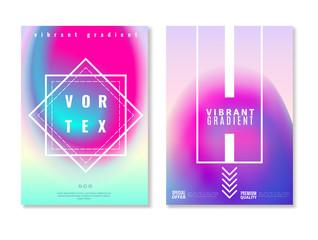 Vibrant Gradient Design Banners