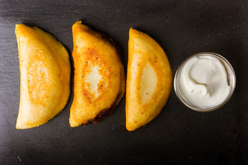 Empanadas Venezolanas  with special sauce