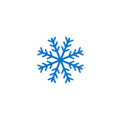 Vector snowflake silhouette-17