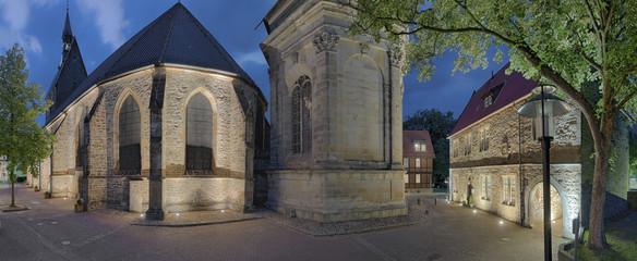 Kirche Mausoleum alte Lateinschule Stadthagen