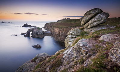Sunset at Land's End, Cornwall