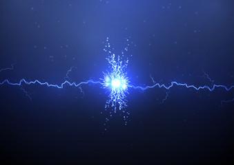 Collision of lightning