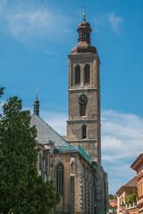 Chiesa di San Giacomo nel centro storico di Kutna Hora
