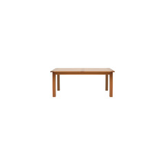 Realistic Furniture Element. Vector Illustration Of Realistic Table Isolated On Clean Background. Can Be Used As Furniture, Table And Wooden Symbols.