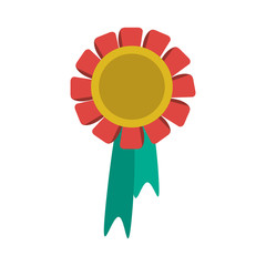 medal prize icon image vector illustration design
