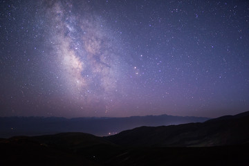 Milkyway Galaxy in Kyrgyzstan