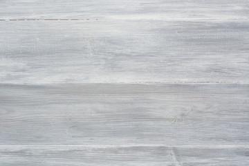 Obraz White grey wooden background, chalk paint - fototapety do salonu