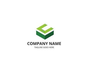 C Square Letter Logo