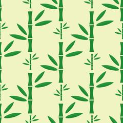Bamboo stem seamless pattern vector illustration.
