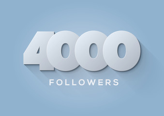 Acknowledgment  4000 Followers