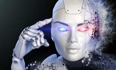 Thinking cyborg