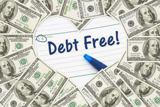 Love being debt free