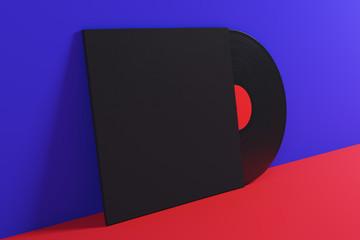 Vinyl advert concept