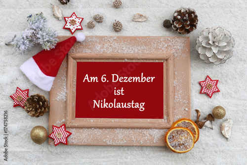 am 6 dezember ist nikolaus stock photo and royalty free images on pic 174758216. Black Bedroom Furniture Sets. Home Design Ideas