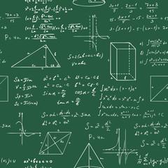 math formulas seamless vector sketch pattern