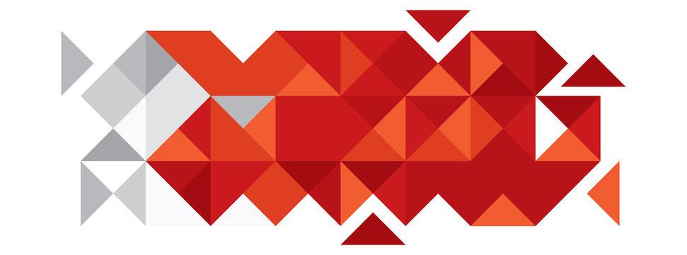 Abstract Bahrain Flag, Bahraini Colors (Vector Art)