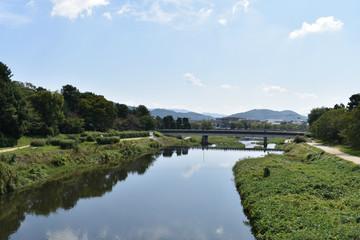 葵橋から見た出町柳